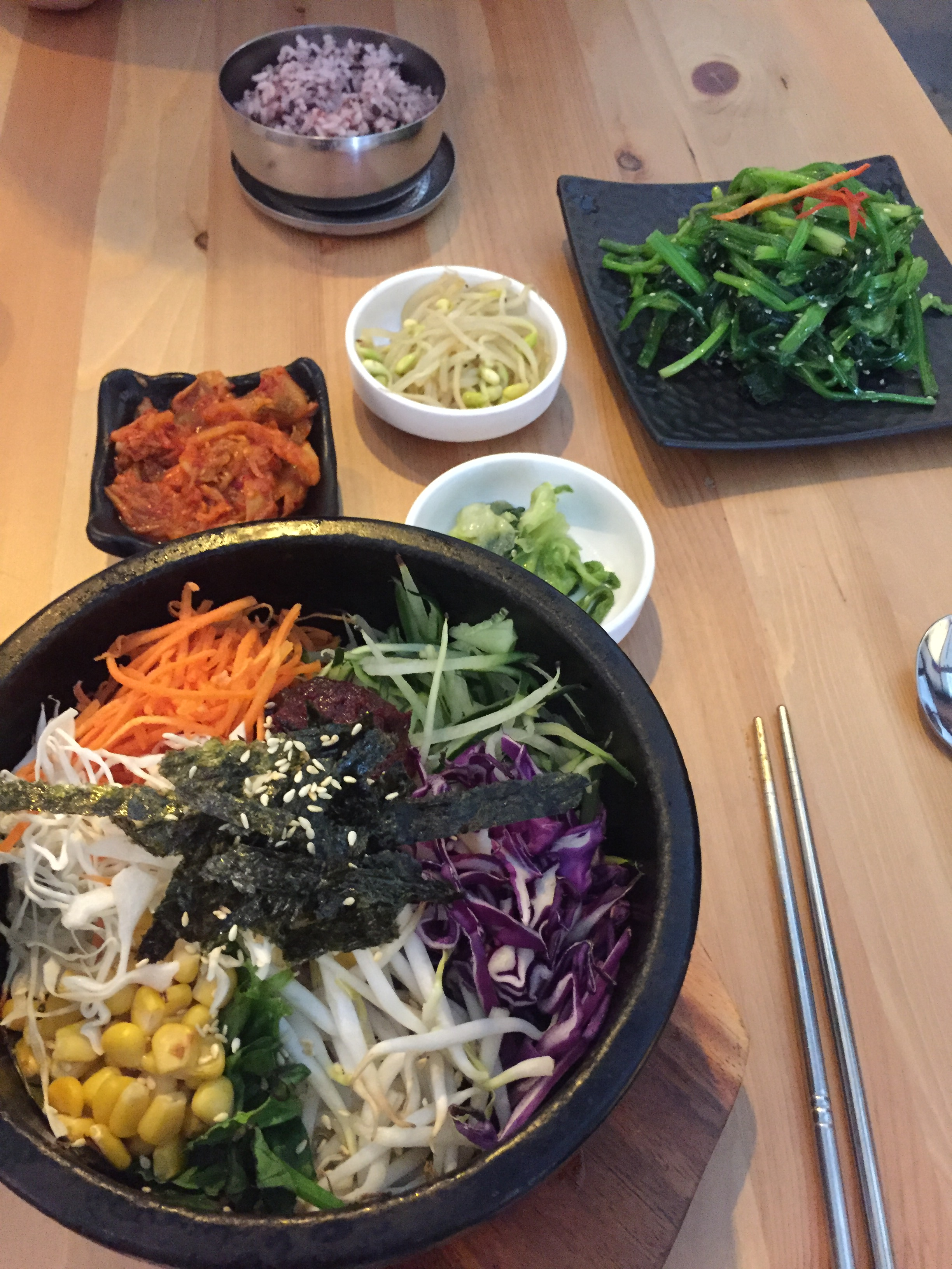 Vegan Korean Meal