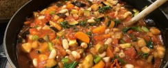 Greek Vegan Bean Stew