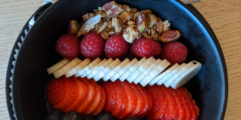 Acai bowl with fruit