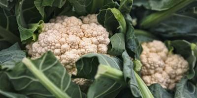 Cauliflower in greens