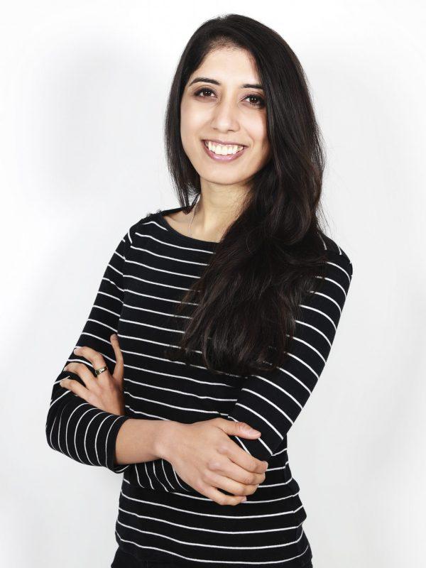 Rohini Bajekal portrait smiling
